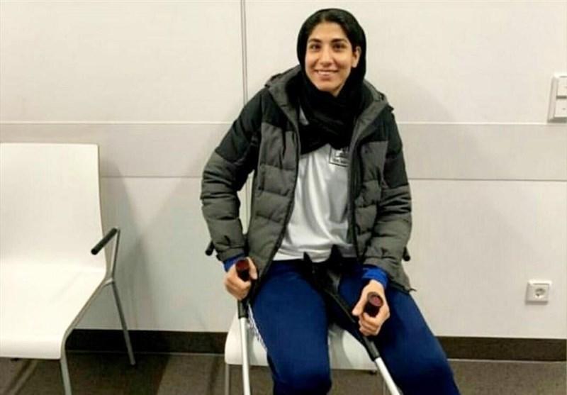 عمل جراحی دوم بانوی المپیکی کاراته ایران در آلمان ، طباطبایی: عباسعلی برای خارج کردن پلاتین پای خود مهرماه راهی هانوفر می شود
