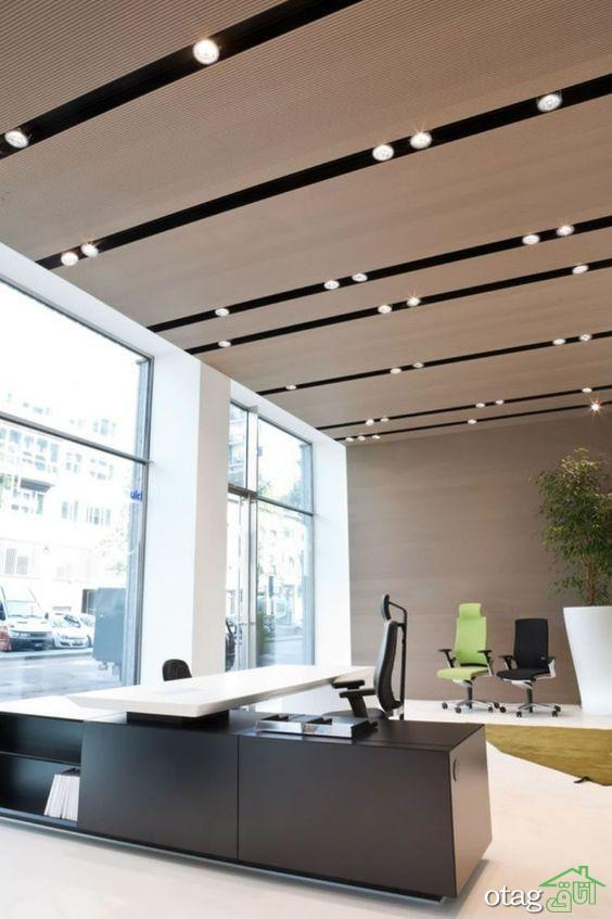 آشنایی با مدل های شیک و منحصر بفرد پوشش سقف کاذب چوبی