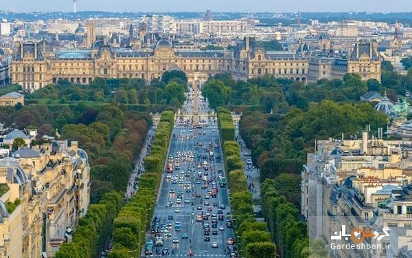 خیابان های دیدنی پاریس با معماری زیبا، عکس