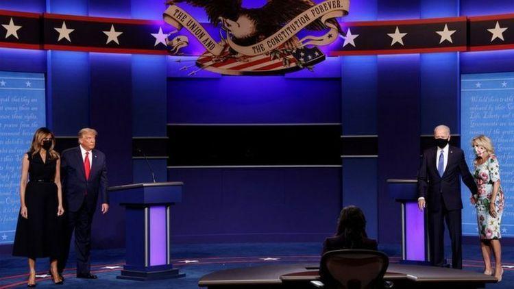 آخرین مناظره انتخاباتی ترامپ و بایدن؛ از ادعای دخالت ایران در انتخابات آمریکا تا جنجال کرونا
