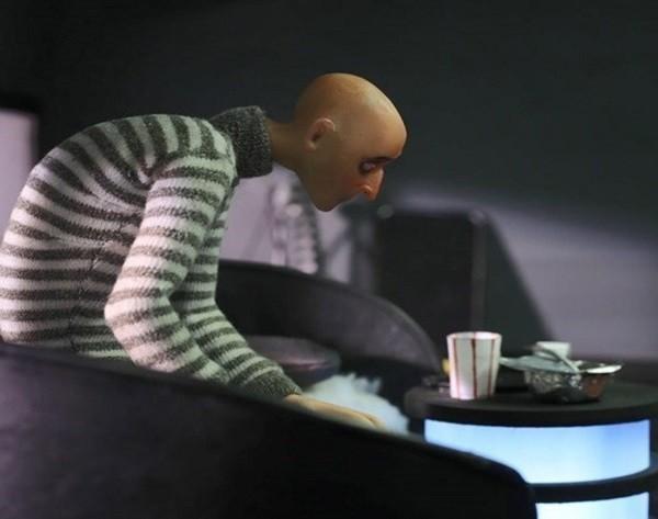 جدال با فضای مجازی در انیمیشن نقطه