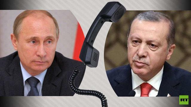 تأکید پوتین و اردوغان بر حل مسالمت آمیز مناقشه قره باغ