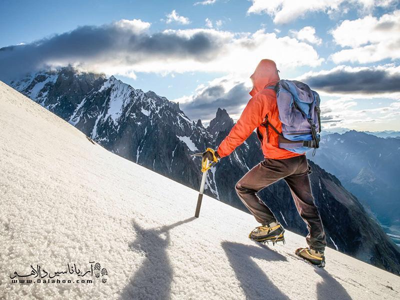 اصول گام برداری و پیاده روی صحیح در کوهنوردی