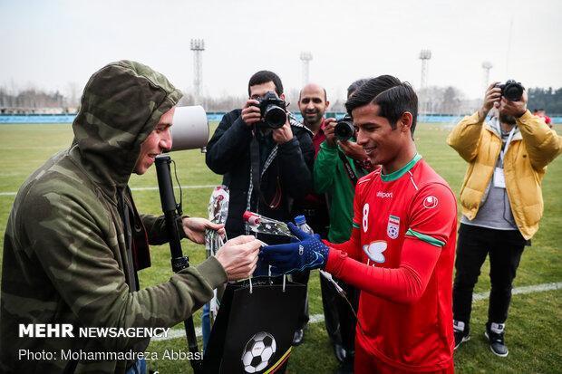 اولین گل ملی قائدی در دومین بازی ملی، یک گل در 24 دقیقه بازی