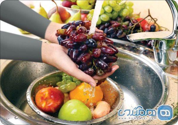 ضدعفونی کردن میوه و سبزی در دوران کرونا
