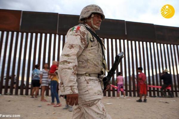 (تصاویر) الاکلنگ های مرز آمریکا و مکزیک برنده بهترین طراحی سال