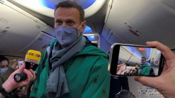 خبرنگاران ناوالنی در فرودگاه مسکو بازداشت شد