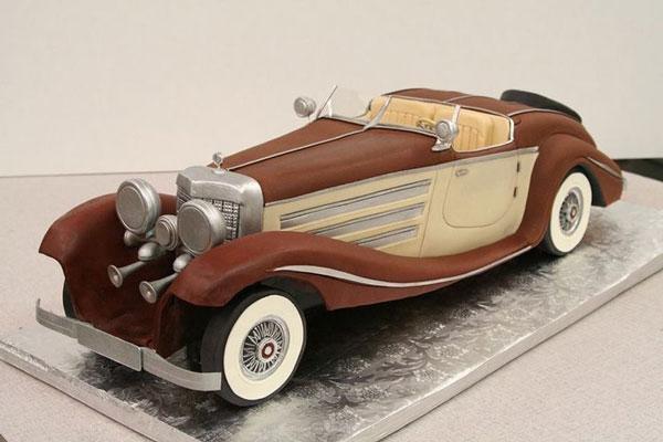کیک تولد پسرانه ماشین در مدل های جدید
