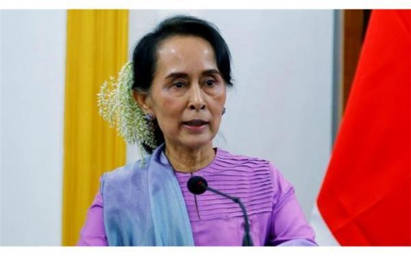 سوچی، رهبر میانمار بازداشت شد