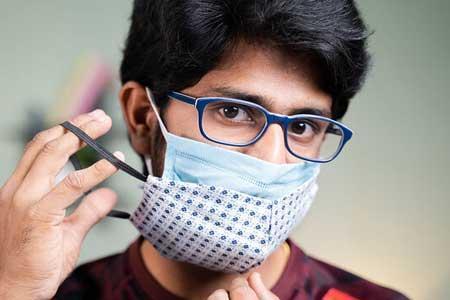 نحوه جلوگیری از بخار دریافت عینک هنگام استفاده از ماسک