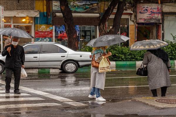 پیش بینی وزش باد نسبتا شدید و باران پراکنده در چندین استان