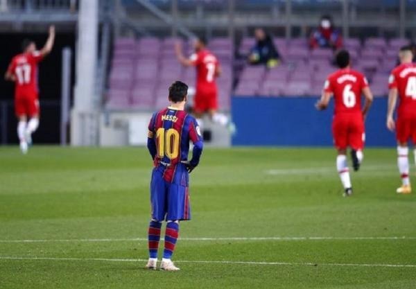 لالیگا، بارسلونا بازی برده را به گرانادا باخت