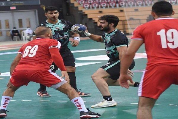 چهارمین شکست تیم نیروی زمینی در مسابقات هندبال باشگاه های آسیا