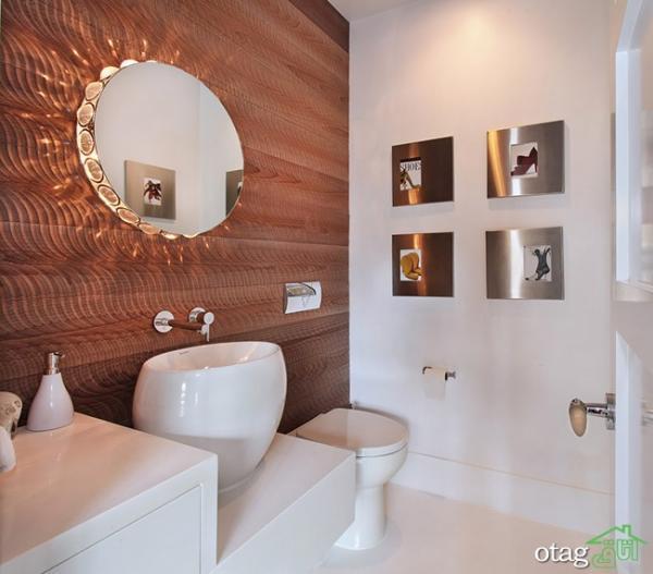 جدیدترین روش های تزیین دیوار دستشویی مناسب خانه های امروزی
