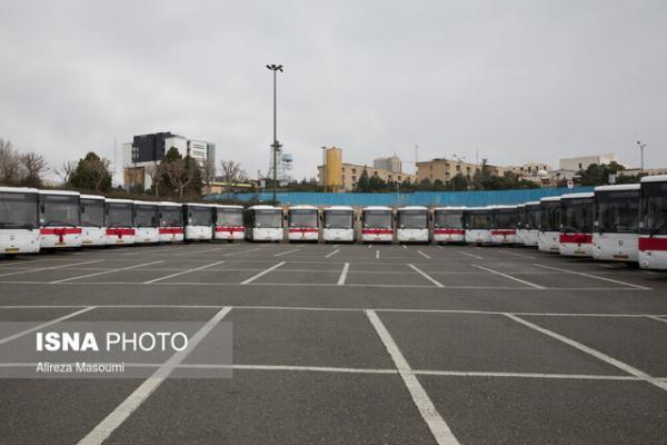 ورود 500 اتوبوس به ناوگان حمل و نقل مرکز