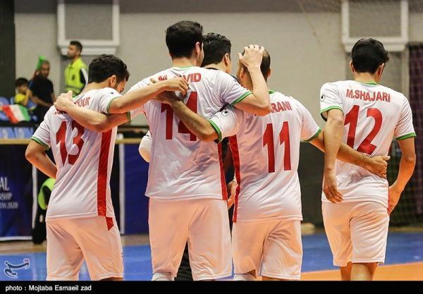 جام جهانی فوتسال، پیروزی نفس گیر ایران در نخستین گام با درخشش صمیمی
